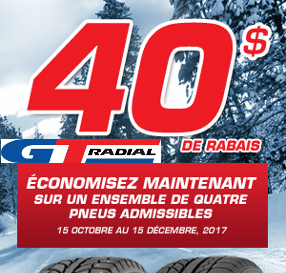 Save Now with GT Radial!